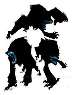 Attack The Block alien. Argh I love this creature design so much!