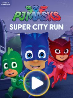 Sing along to the PJ Masks' favorite songs! (Part 2 of Watch PJ Masks on Disney Junior and in the DisneyNOW app! Join Catboy, Owlette and Gekko as the he. Pj Masks Stickers, Festa Pj Masks, Banner Backdrop, Mickey Mouse Clubhouse, Mask Party, Disney Junior, Favor Bags, Gift Bags, Paw Patrol