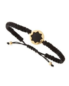 Sunburst Wrap Bracelet, Black/Gold by House of Harlow at Neiman Marcus.