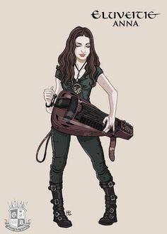 Eluveitie: Anna Murphy Drawing