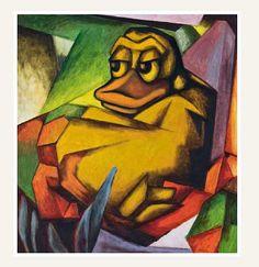 """""""Kauernde Ente"""" von Franz Dark – ein Meilenstein des deutschen Expressionismus"""