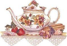 BAUZINHO DA WEB - BAÚ DA WEB : imagens para decoupagem para você imprimir com o tema cozinha, bule, chaleira, café, chocolate...