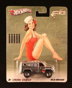 BAJA BREAKER * NOSE ART * Hot Wheels 2011 Nostalgia Series 1:64 Scale Die-Cast Vehicle by Mattel. $11.95. 1/64 scale die-cast replica ,Hot Wheels. Hot Wheels 1998 Panoz GTR-1 #1071