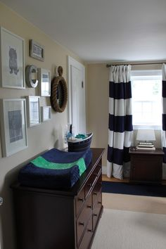 Project Nursery - Boy Nautical Nursery Room View