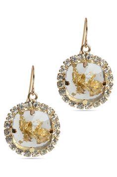 Smoky Siren Drop Earrings Rs. 700/- http://www.juvalia.in/collection/00-s-the-girl-next-door/smoky-siren-drop-earrings.html
