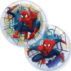 Spiderman bubble balloon http://www.wfdenny.co.uk/p/ultimate-spiderman-bubble-balloon/5598/