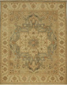 Area Rugs | Alexanian Carpet & Flooring Ontario Canada  India. Main Colors:Earthtones Blues Blue Light Blue Denim  More cream than gold