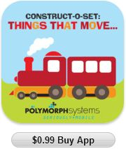 Things that move is a fun filled app for tots, kids and the young at heart.