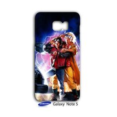 Back To The Future Samsung Galaxy Note 5 Case Cover Wrap Around