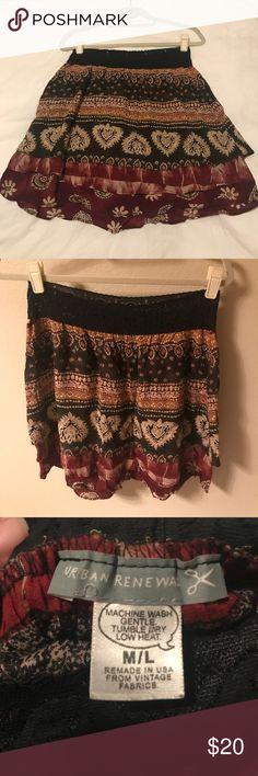 "Urban Outfitters ""urban renewal"" skirt Urban Outfitters ""urban renewal"" skirt in M/L Urban Outfitters Skirts Mini"