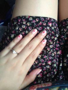 Red dot nail