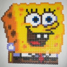 """SpongeBob (7 1/2"""" x 7 1/2"""")"""