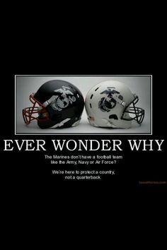 No football for USMC