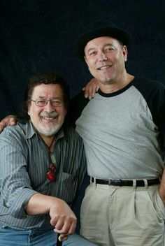 Two legends of latin music....Ruben Blades and Ray Barretto!