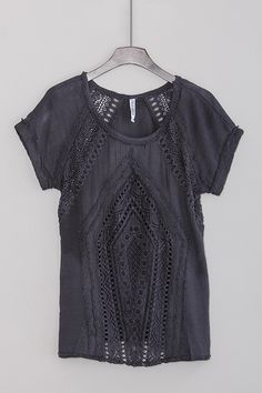 Tibbie Top in Charcoal