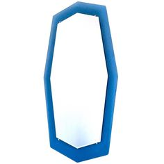 Large Italo900 Mirror in 1950s Style   From a unique collection of antique and modern wall mirrors at https://www.1stdibs.com/furniture/mirrors/wall-mirrors/