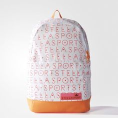 Batoh adidas STELLASPORT Print - bílá