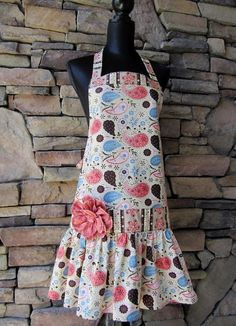 Punch & Cookies Adult Apron | Craftsy