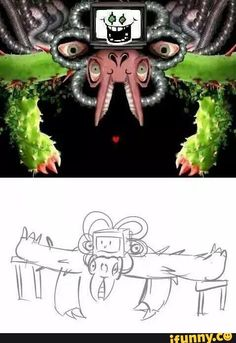 The secret of omega FLOWEY : turn of all the lights , the souls get two tables and combine with FLOWEY and then you fight Flowey Undertale, Undertale Memes, Undertale Fanart, Undertale Comic, Atticus, Creepypasta Anime, Flowey The Flower, Toby Fox, Underswap