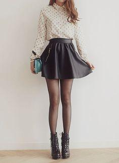 skater skirt cute