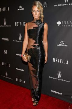Lady Victoria Hervey @ THE GOLDEN GLOBES AFTER-PARTIES