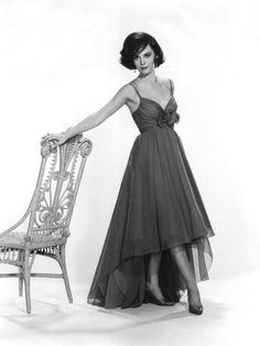 Gorgeous vintage style bridesmaid gown idea...