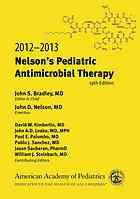 Nelson's pediatric antimicrobial therapy - ebook