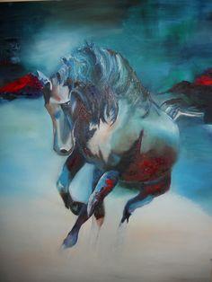 """""""Wild""""--Oil on Canvas Oil On Canvas, Painting, Art, Craft Art, Painted Canvas, Paintings, Kunst, Oil Paintings, Gcse Art"""