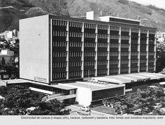 Electricidad de Caracas, 1951. Carbonell y Sanabria