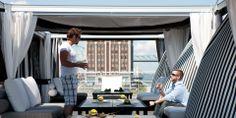 Outdoor Canopy - Terrace Concept by Jardin de Ville