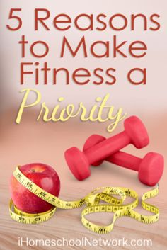 5 Reasons to Make Fitness a Priority