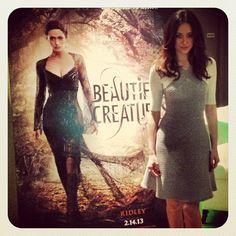 Siren alert! #EmmyRossum puts her Ridley face on at the #BeautifulCreatures junket.