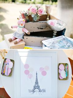 Sweet & Feminine Beachside Baby Shower