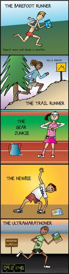 What type of runner are you? #Running #Infographic #Outdoors We've got the gear for you...http://www.cotswoldoutdoor.com/be/browse-by-activity/trail-running