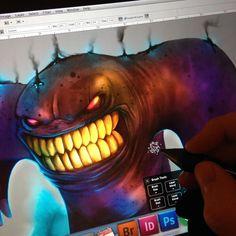 Fun cool down sketch :) #cooldownsketch #sketch #sketchaday #sketchbook #digitalsketch #illustration #illustrationoftheday #monsterfun #photoshop #cintiq #draw #drawing #drawingaday #drawingoftheday #characterdesign #instaart #instasketch #art #artsy #artist #artwork #artoftheday by ivieillustration
