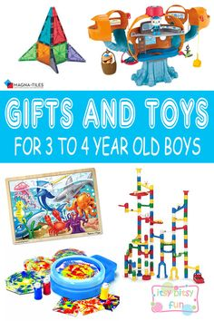 Best Gifts For 3 Year Old Boys In 2017
