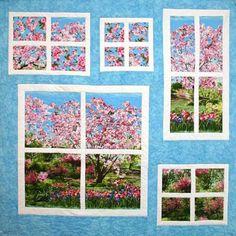 Primavera Windows Panel Quilt
