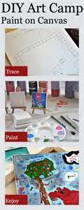 DIY Summer Art Camp: Painting on