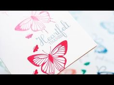 Generation Stamping - YouTube and how to use the envelope punch board to make a gift box for a set of notecards.