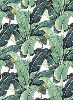 La hoja del platano, el motivo decorativo botánico de moda para este verano.