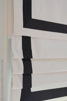 "| P | DIY Roman Shade with very thorough instructions. <a href=""http://www.bystephanielynn.com/2013/04/how-to-make-a-no-sew-fixed-roman-shade-with-valance.html"" rel=""nofollow"" target=""_blank"">www.bystephaniely...</a>"