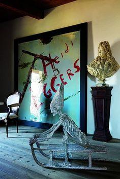 Art Gallery Owner Gian Enzo Sperone's Art-Filled Swiss House