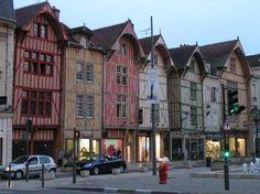 Troyes et son  centre ville