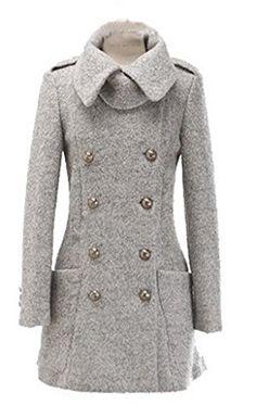 Womens Winter Wool Long Trench Warm Slim Jacket Coats Overcoat Outwear TRURENDI http://www.amazon.com/dp/B00OUTTGFC/ref=cm_sw_r_pi_dp_sQaMub0BVXDV5