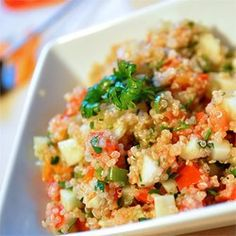 """Quinoa Tabbouleh 