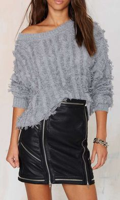 Under Covers Knit Sweater