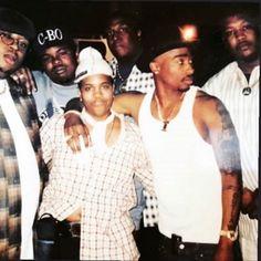c-bo, b-legit, d-shot Tupac Shakur, 2pac, Tupac Pictures, Tupac Art, 90s Hip Hop, Thug Life, 4 Life, Hip Hop Artists, Black People