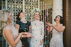 Glam Garden Party Wedding