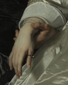 Abraham del Court and his wife Maria de Kaersgieter (detail), Bartholomeus van der Helst