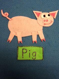 Flannel Friday! Make-a-Pig